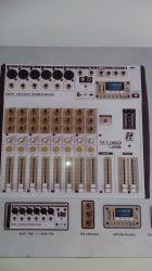 Mesa de Som Staner, Modelo MX 0803 USB