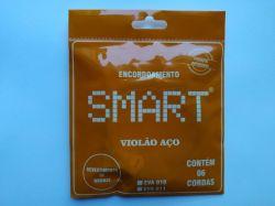 Jogo de Cordas Smart Para Violão Aço Tensão 0,10