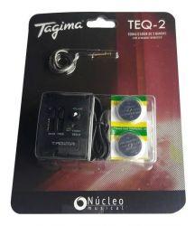 Pré-equalizador Para Ukulele / Cavaco Tagima, Modelo TEQ-2