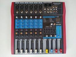 Mesa de Som Soundvoice, Modelo MS 602 EUX