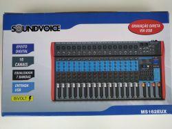 Mesa de Som Soundvoice, Modelo MS 162 EUX