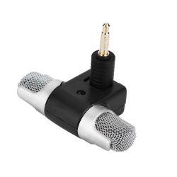 Microfone Stéreo Para Celular, Tablet, Câmeras e Gravador