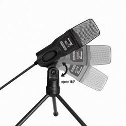 Microfone Condensador Soundvoice, Modelo Soundcasting 650